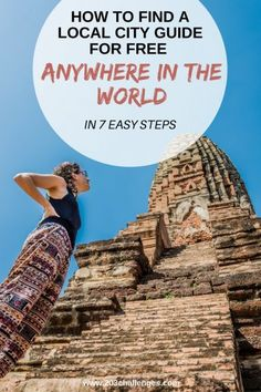 How to find local city guides for free (wherever you are in the world)   203Challenges