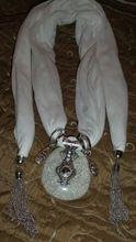 Tienda Online Nuevas Llegadas Mujeres de La Manera Cuadrado de la Aleación del Collar Pendiente de La Bufanda Wrap Joyería de Lujo Feminina Algodón Caliente Bufandas Collar de Las Mujeres | Aliexpress móvil