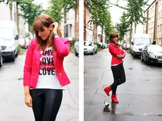 Sneaker Wedges (by Melissa G) http://lookbook.nu/look/4000992-Sneaker-Wedges