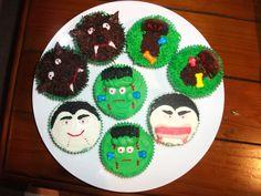 My Halloween Cupcakes! Halloween 2011