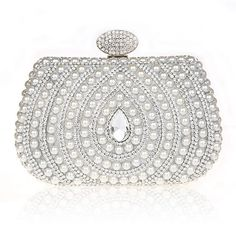 53.27$  Watch now - http://aliuj6.worldwells.pw/go.php?t=32563669187 - New Fashion Mini Women Evening Bags Pearl Pearl Diamond Party Bags Purse Clutch for Banquet 53.27$