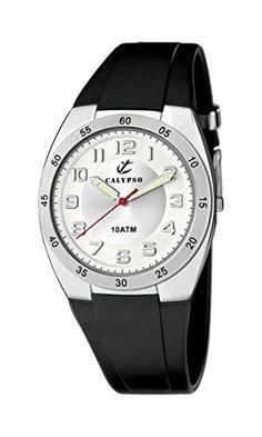Calypso watches Jungen-Armbanduhr Analog Kautschuk K6044/A - http://kameras-kaufen.de/calypso/calypso-watches-jungen-armbanduhr-analog-k6044-a
