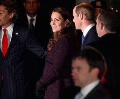 The couple are in the country for three days, during which Prince William will meet President Barack Obama.