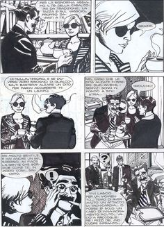 Nicola Mari: Dylan Dog page Comic Art