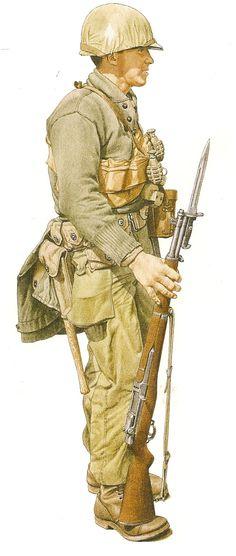 MARINE.- U.S. Marine Corps ,Inchon 1950. 1st Marine División Korean War. ...