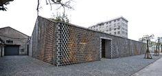 Paramétrico pliegues: despacho de arquitectura y espacio de exposición en Shanghai