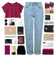 """//y o u • g i v e • m e • w a r m t h//"" by lion-smile ❤ liked on Polyvore featuring Topshop, Christy, Fjällräven, Xenab Lone, Stampd, Koh Gen Do, Woven Workz, NARS Cosmetics, 3M and Dogeared"