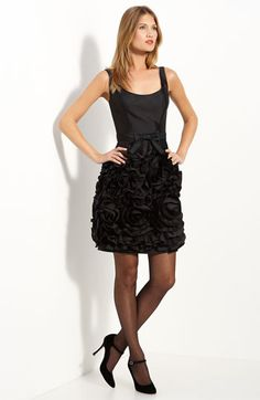 Milly Rosette Trim Dress...I mean...amazing.