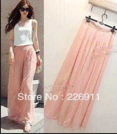 Pants, long divided skirt 1