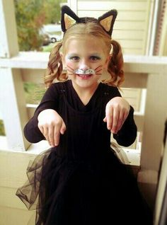 Halloween | Toddler | Costume | Kitty | Black Cat | Meow | Dress Up