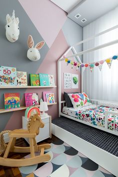 Best Playroom Design Ideas for Your Kids Kids Room Ideas When you're building a new home, there's no reason why your child's playroom should be any different than any other room in the house. As long as your. Baby Bedroom, Baby Room Decor, Girls Bedroom, Bedroom Decor, Childrens Bedrooms Girls, Playroom Design, Kids Room Design, Kids Bedroom Furniture, Wooden Furniture