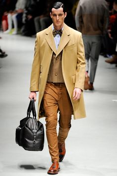 Andreas Kronthaler for Vivienne Westwood Fall 2014 Menswear Fashion Show