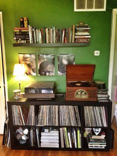 Record player area