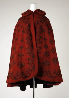 1890's cape. I need this one too Evidently, someone is collecting 1890's capes.