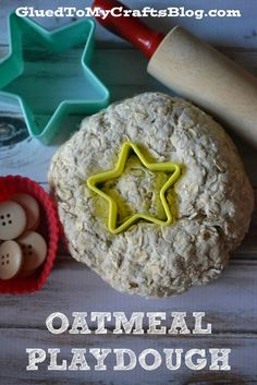 Oatmeal Playdough