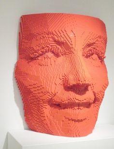 Impressive Artworks from Lego Bricks
