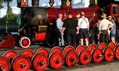 Disney's The Magic Behind Our Steam Trains Tour grants railroad enthusiasts a once-in-a-lifetime chance to watch as the Magic Kingdom theme park train crew prepares the Walt Disney World Railroad steam trains for their daily operation.