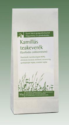 Kamillás teakeverék (Gyulladás csökkentésére) | Györgytea.hu