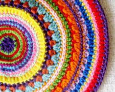 Popular items for crochet mandala on Etsy