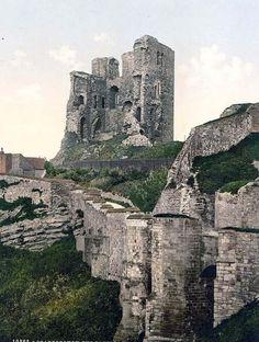 Scarborough, the castle, Yorkshire, England