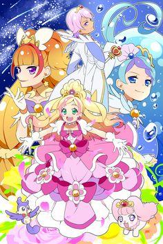Go! Princess Pretty Cure poster fanart