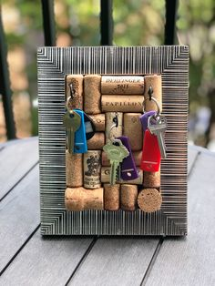 Wine Cork Jewelry, Wine Cork Holder, Recycled Wine Corks, Champagne Corks, Cork Boards, Wine Bottle Stoppers, Gifts For Wine Lovers, Jewelry Holder, Jewellery Storage