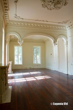 807 Esplanade Ave., New Orleans, LA  - Front parlor by Preservation in Print, via Flickr #NOLA