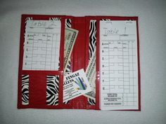 Duct Tape Wallet - Server Book -