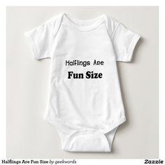 Halflings Are Fun Size Shirts