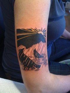 Rainy Bird Tattoo