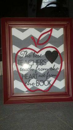 Teacher Gift/End of Year The Best Teachers by Prettyinpinkbiz, $25.00