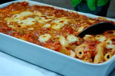 Classic Baked Ziti Recipe - Recipes, Dinner Ideas, Healthy Recipes  Food Guide