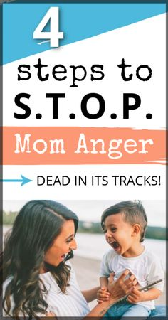 Feel like an angry mother all the time? These four easy steps will help you stop the cycle of anger right in the moment so you can enjoy motherhood once again! School Health, First Time Parents, New Dads, Feeling Happy, Raising Kids, Parenting Hacks, How To Become, In This Moment, Feelings