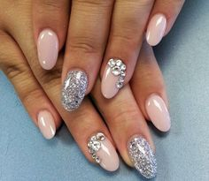 Pink silver & diamomds
