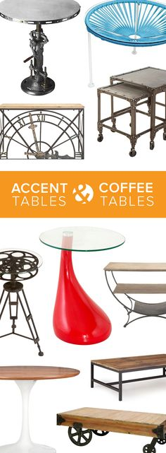 Accent Tables & Coffee Tables   Shop Now at dotandbo.com