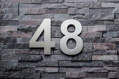 QT Home Decor House Numbers and Letters are made with superior quality 304 Stainless Steel to make sure it always stands out from the rest. Also available in Black and Red Colors. Get yours now!