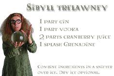 Sybil Trelawney plus other Harry Potter inspired drinks!