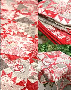 Pommel de Pin Quilt Kit with Fabrics from Joyeux Noel by Kaari Meng of French General for Moda Christmas 2015 Collection FGJN03. Kit includes the pattern and fabrics required by the pattern to complete the quilt top. Finished size is 60 x 60. You will need batting binding and 3 ⅞ yards of backing fabric. The fabrics are all from the French General Christmas collection for 2015. We will be happy to help you find the perfect backing fabric. Please convo us for pictures. Please be certain to…