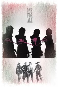 The Musketeers graphics, 'One for all'