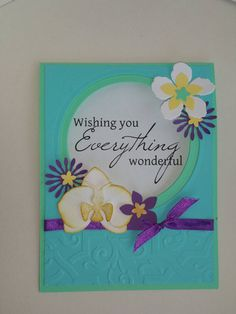 Check out this item in my Etsy shop https://www.etsy.com/listing/459017394/wishing-you-everything-wonderful-card