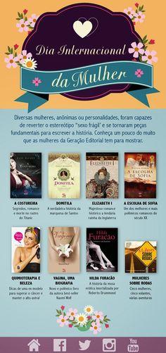 Saleta de Leitura Semana da Mulher Geração Editorial
