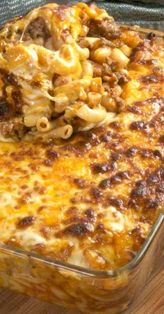 Macaroni and Beef with Cheese Recipe