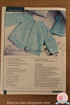 Bom dia meninas (e meninos). Essa semana uma amiga da minha mãe deixou de bobeira no ateliê uma revista de tricô e crochê e eu fiquei louca...