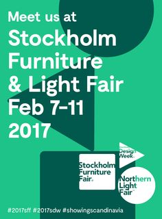 We are ready for Stockholm Furniture Fair 2017!