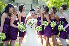 Finalized on purple!! And these are the bridesmaid dresses im using too! And according to all wedding magazines and the bridal show i went to this color purple is the IT wedding color right now!!