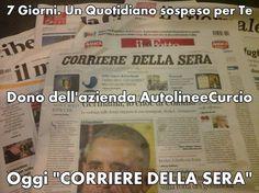 Oggi @La_Lettura del @Corriereit @corrmezzogiorno @LibroSospeso @AutolineeCurcio @gppcurcio @Libreriamo @illibraio