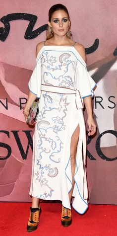 The Most Stylish Looks from the 2016 Fashion Awards Red Carpet - Olivia Palermo from InStyle.com