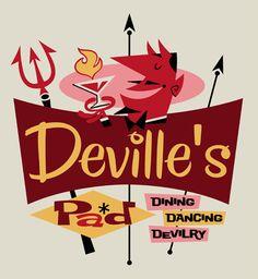 Derek Art - Deville's Pad logo