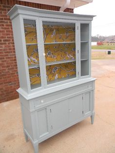 Painted China Cabinet...