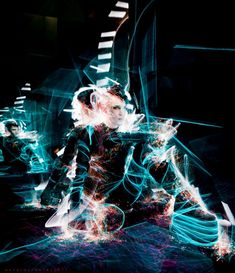 Aurora Crowley Following · October 9, 2012   long exposure light painting with Dylan Monroe on the infinity set 2011